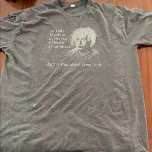 Einstein quoted shirt
